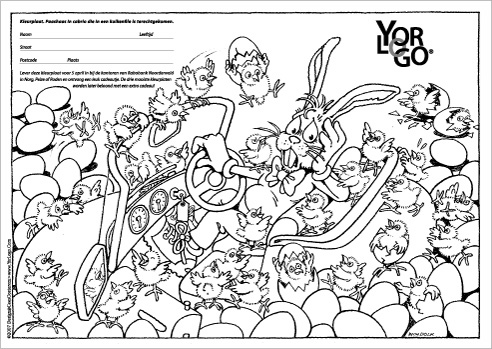 Paas Kleurplaat Voor Volwassenen Yorlogo 174 Kleurplaat Paashaas
